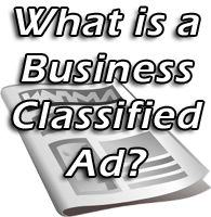 business classified ads